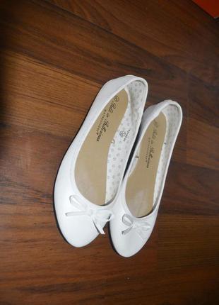 Туфли, балетки на низком ходу