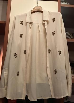 Uterque шелковая блузка