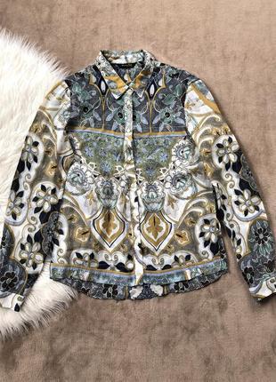 Женская шикарная стильная блузка блуза massimo dutti в стиле etro