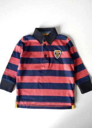 Реглан рубашка для мальчика, 86-92-98см