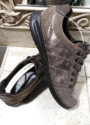 Комфортные туфли - кроссовки  waldlaufer  р. 39.