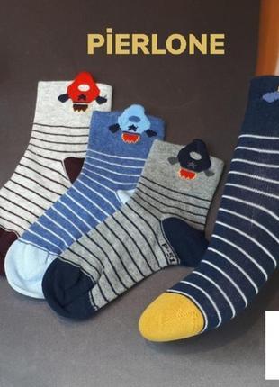 Носочки для мальчика на 1-2 и 3-4года
