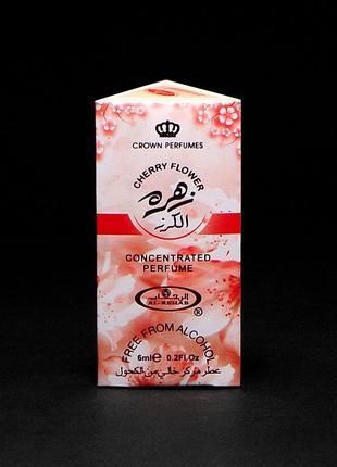 Арабские масляные духи cherry flower al rehab (цветы вишни) 6 мл