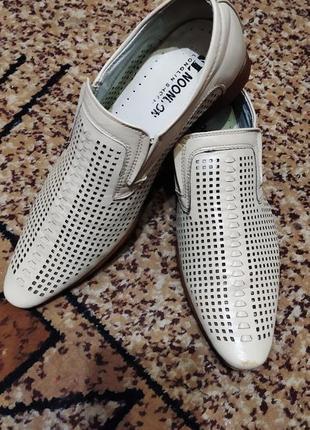 Легкие дышащие туфли в сеточку