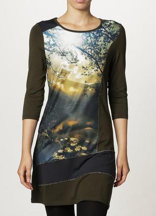 Оригинальное вискозное платье туника от anna field, 48-50