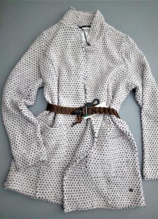 44-46 р мягкий пиджак cecil