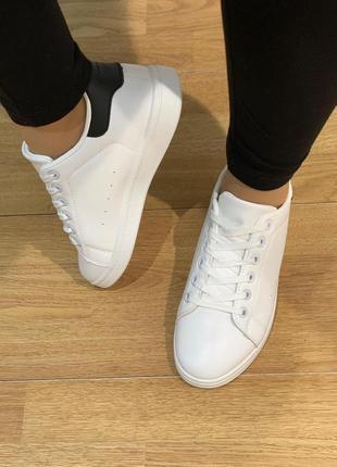 Крутые белые женские кеды кроссовки білі жіночі кеди кросівки купить