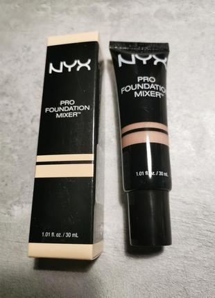 Nyx pro foundation mixer аджастер для тональный средств