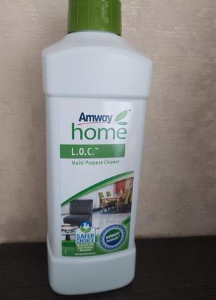 Мультифункциональный очиститель loc лок очисник амвей amway