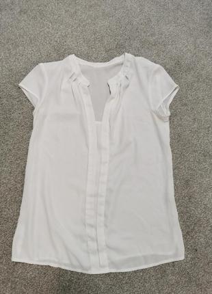 Блуза белая летняя