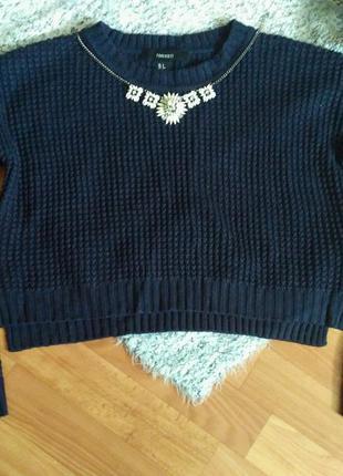 Актуальный кроп свитер от forever 21