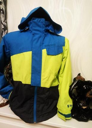 Стильная курточка ветровка парка protest на мальчика рост140