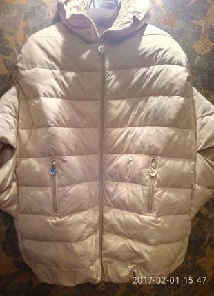 Elisbetta fraanchi  пуховый жилет-куртка
