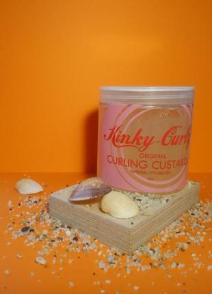 Натуральний гель для стайлінгу kinky curly custard