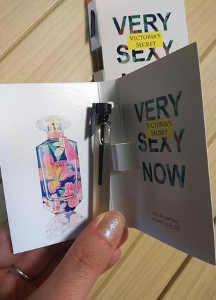 Духи парфюм пробник very sexy now от victoria's secret ☕ объём 5мл