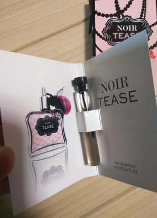 Духи парфюм пробник noir tease от victoria's secret ☕ объём 5мл
