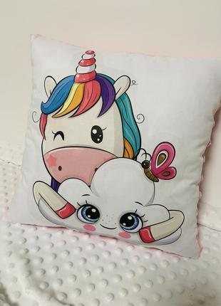 Детские плюшевые подушки
