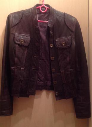 Кожаная куртка, натуральная кожа