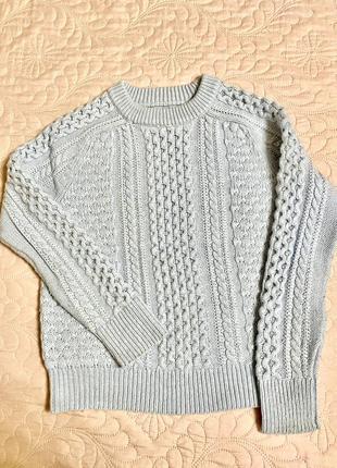 Зимний свитер j.crew, размер s