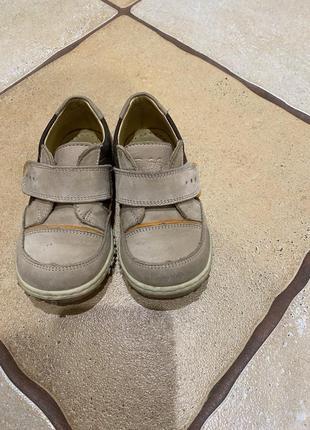 Кожаные ортопедические ботинки 23 р