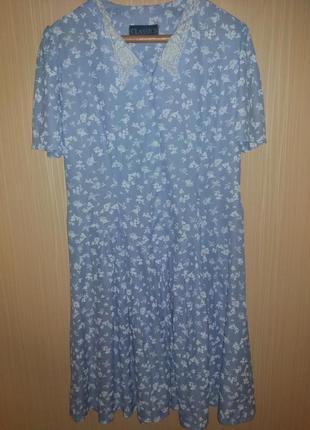 Платье большого размера 54