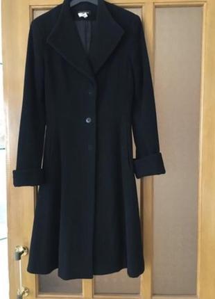 Шерстяное демисезонное пальто, xs bebe