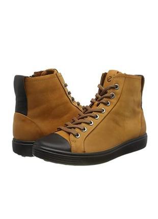 Ботинки ecco soft 7 w р. 36 полуботинки новые! в наличии!! оригинал!!!