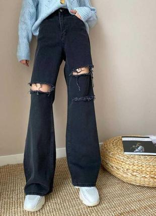 Трендовые джинсы с разными