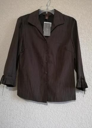 Блуза под замш, с красивыми руковами от bandolino, сша.