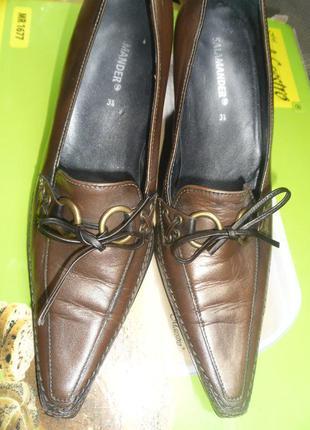 Изысканные миниатюрные туфельки 36 р