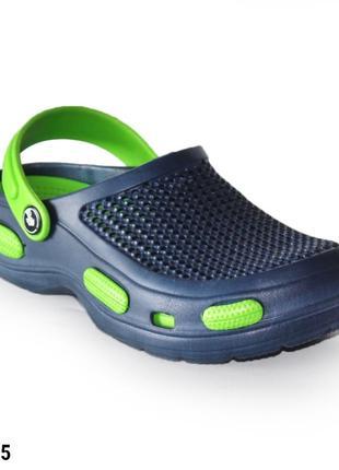 Сабо, кроксы мужские, синие, р. 41-44; медицинская обувь, 115555