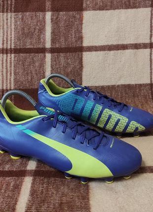 Футбольная обувь копачки бутсы puma