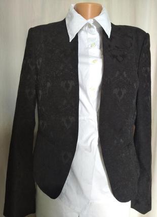 Жакет пиджак  смокинг укороченный короткий