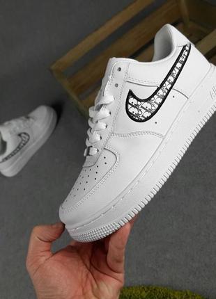 Nike air force 1 dior (белые)