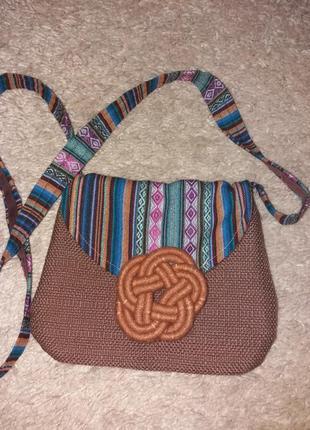 Маленькая сумочка в этно стиле.la colorina.
