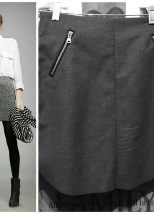 Осенняя юбка с h&m 48-50 размер