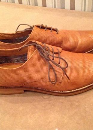 Кожаные туфли бренда next, р. 43