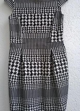 Платье dorothy perkins гусиная лапка плотная ткань