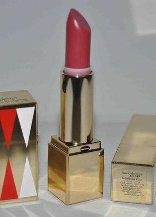 Насыщенная моделирующая помада estée lauder pure color envy sculpting lipstick