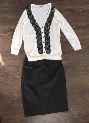 Актуальная  атласная юбка