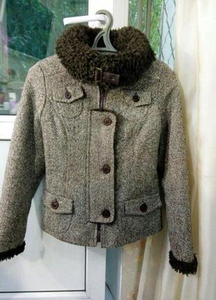 Теплая куртка/ дубленка  ruta-s