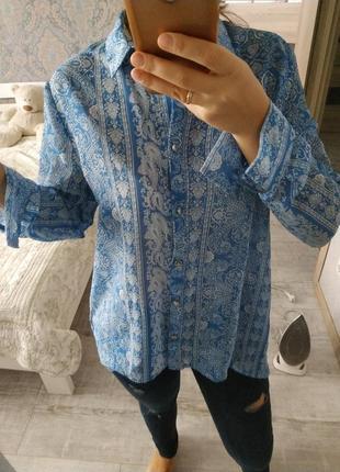 Стильная красивая блуза рубашка