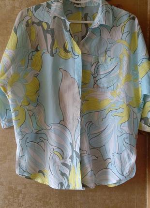 Хлопковая рубашка milano