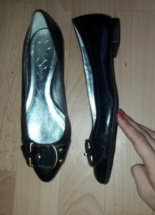 Кожаные туфли  (балетки) gessica simpson рр 36
