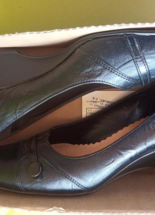 Туфлі жіночі кожа польські goral 40