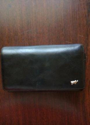 Продам кошелек из натуральной кожи, фирменный  braun buffel