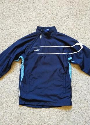 Анорак спортивнвая кофта реглан umbro размер 134-140