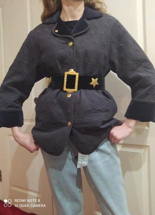 Стеганная куртка escada винтаж