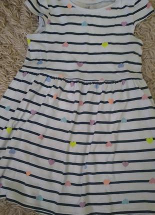 Платье h&m 5-6