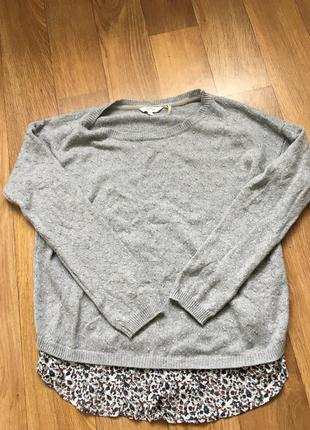 Нежный легкий свитер кофта джемпер